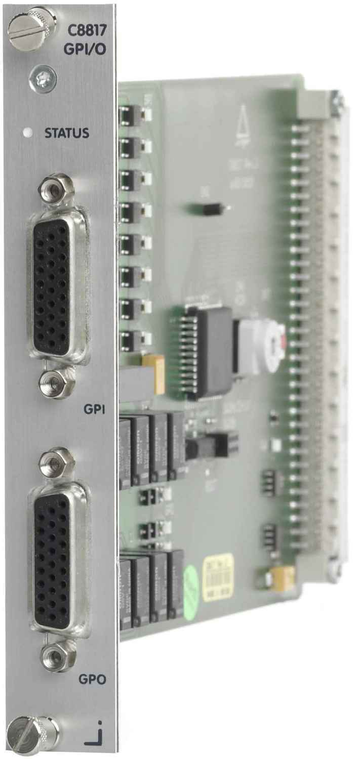 C8817 GPI/O Interface