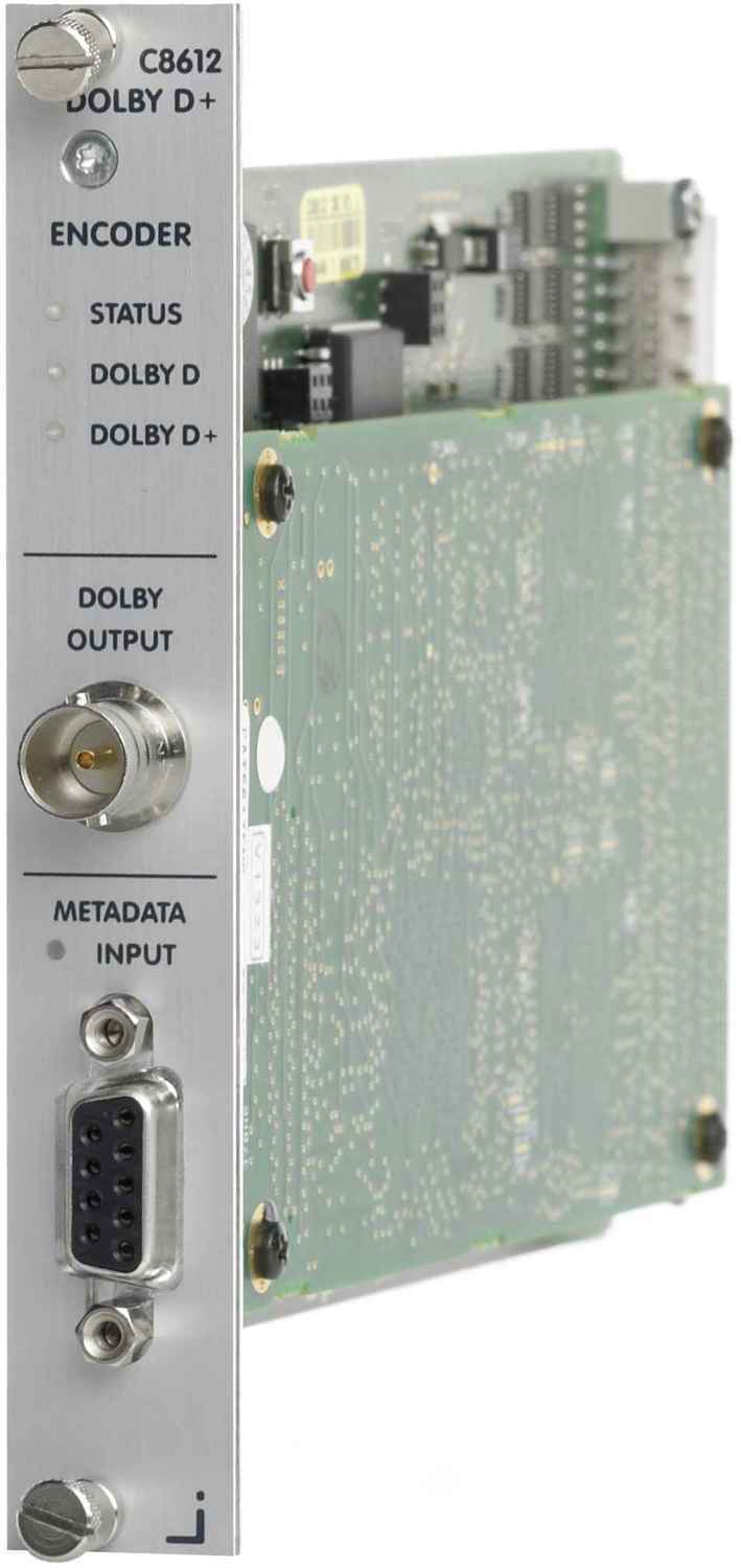 C8612 Dolby® D/D+/AAC encoder